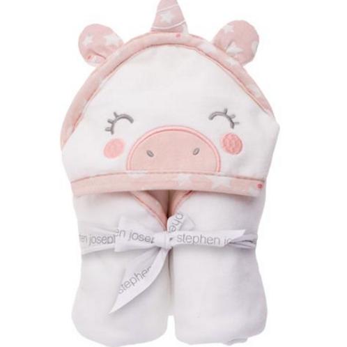 SJ Baby Unicorn Hooded Bath Towel