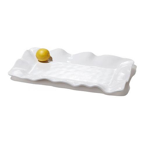 BEATRIZ BALL VIDA Havana White Long Rectangular Platter