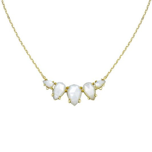 Natalie Wood Designs - Daydreamer Necklace WHITE PEARL