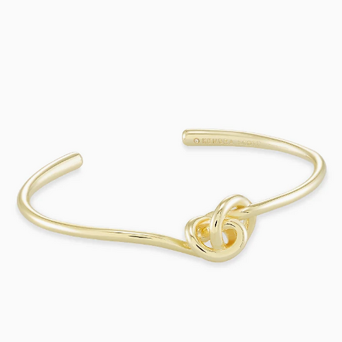 Kendra Scott Presleigh Cuff Bracelet In Gold