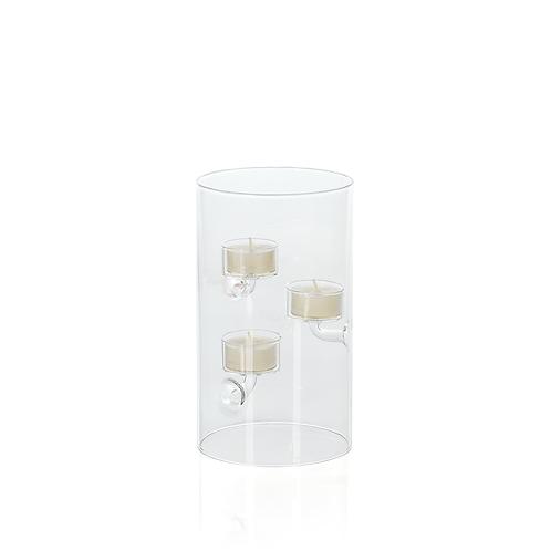 ZODAX Suspended Glass Tealight Holder MEDIUM
