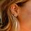 Thumbnail: Natalie Wood Designs - Bloom Stud Earrings GOLD