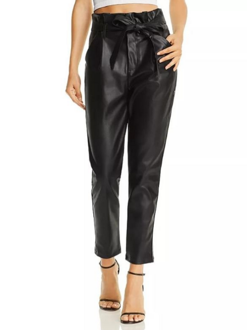 LUCY PARIS ALIANA PANT in Black