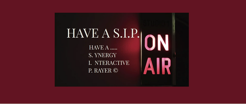 Have A  S.I.P. With The Risen Lord Jesus