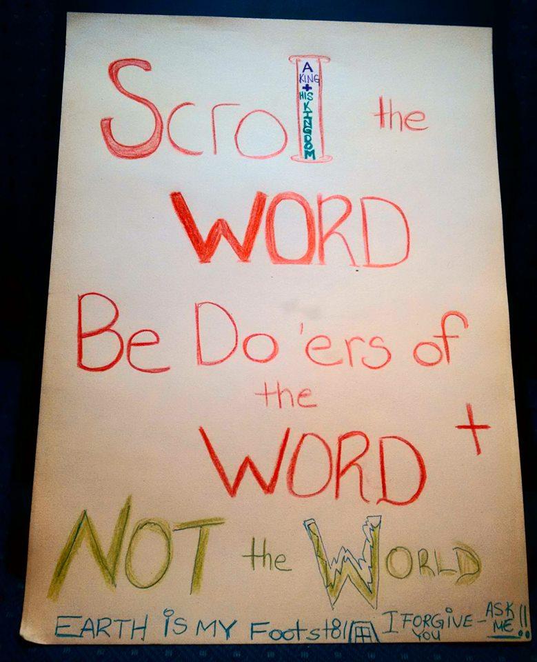 scrollword