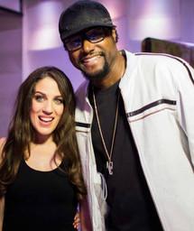 Ellene & Morris Hayes (NPG) @ EastWest Studios LA