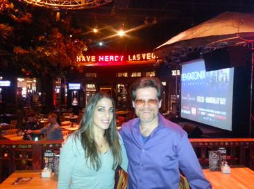 With Brent Fischer in Las Vegas