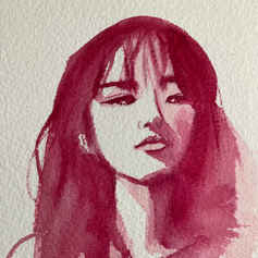 Portrait of a Young Korean Woman