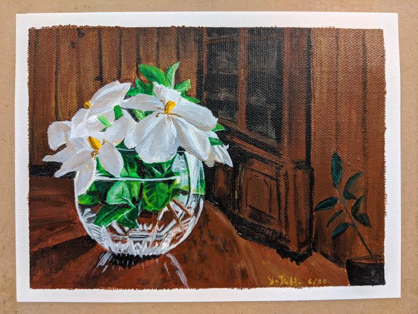 Gardenias for George Floyd