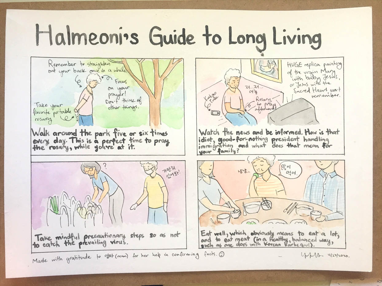 Halmeoni Guide to Long LIving