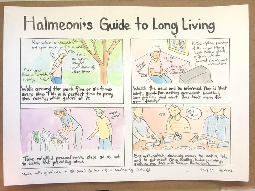 Halmeoni Guide to Long LIving