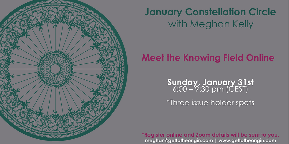 January Constellation Circle with Meghan Kelly