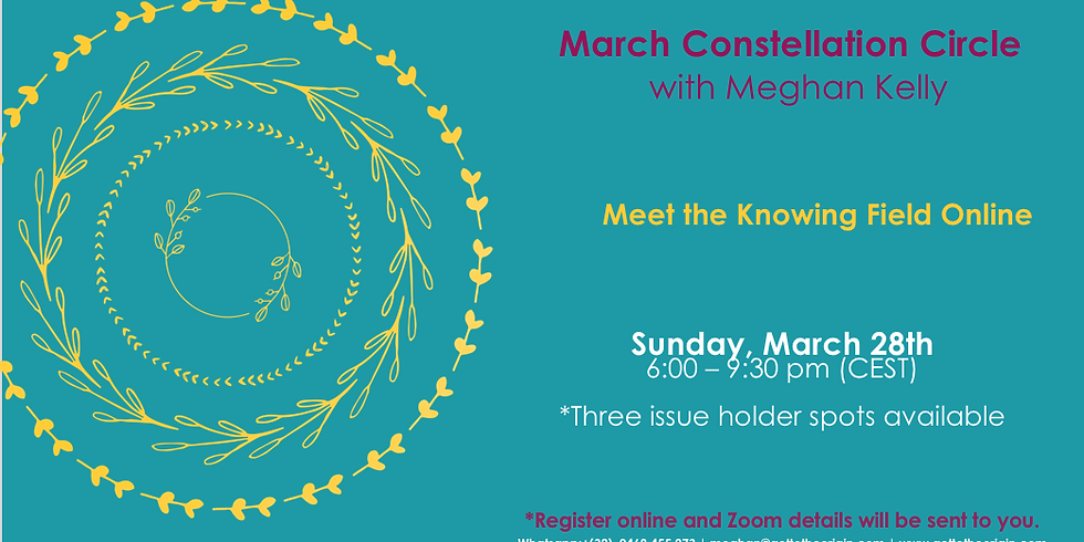 March Constellation Circle with Meghan Kelly