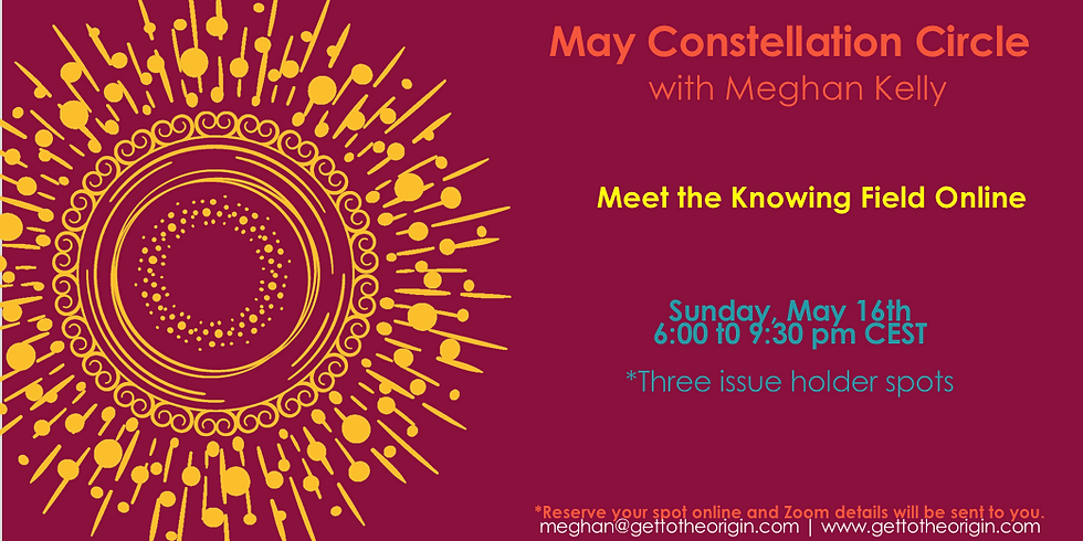 May Constellation Circle with Meghan Kelly
