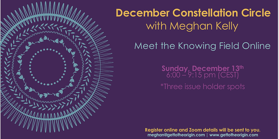 December Constellation Circle with Meghan Kelly