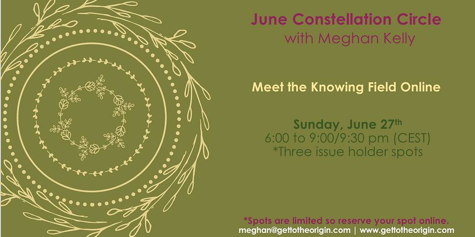June Constellation Circle with Meghan Kelly