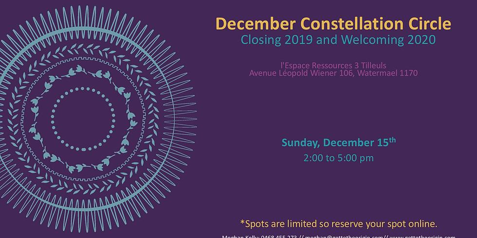 December Constellation Circle - Brussels