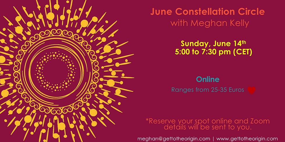 June Constellation Circle Online