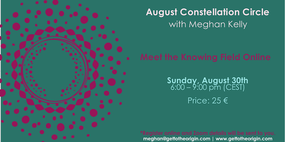August Constellation Circle