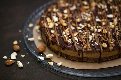 RAW Gâteau cru au caramel