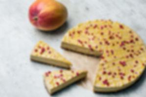 RAW Gâteau cru à la mangue