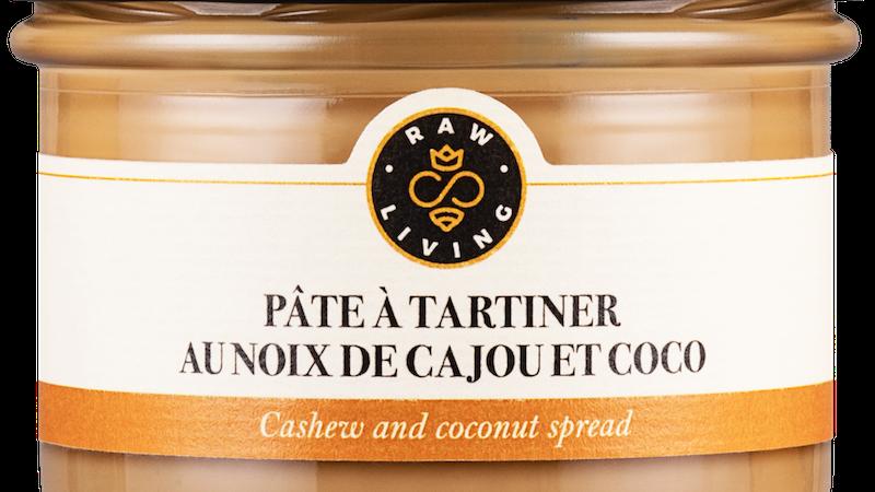 Pâte à tartiner au Noix de Cajou et Coco 200 g