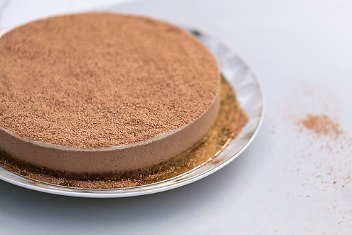 RAW Gâteau cru au Chocolat et à la banane