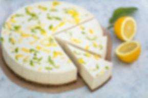 Raw Lemon & Lime Cheesecake