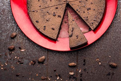 RAW Gâteau au chocolat cru et au moka