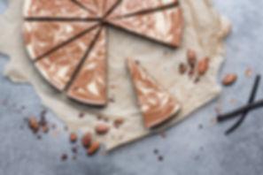 RAW Gâteau cru à la vanille et au chocolat
