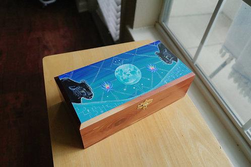 Sacred Cedar Box: Jaguar Medicine