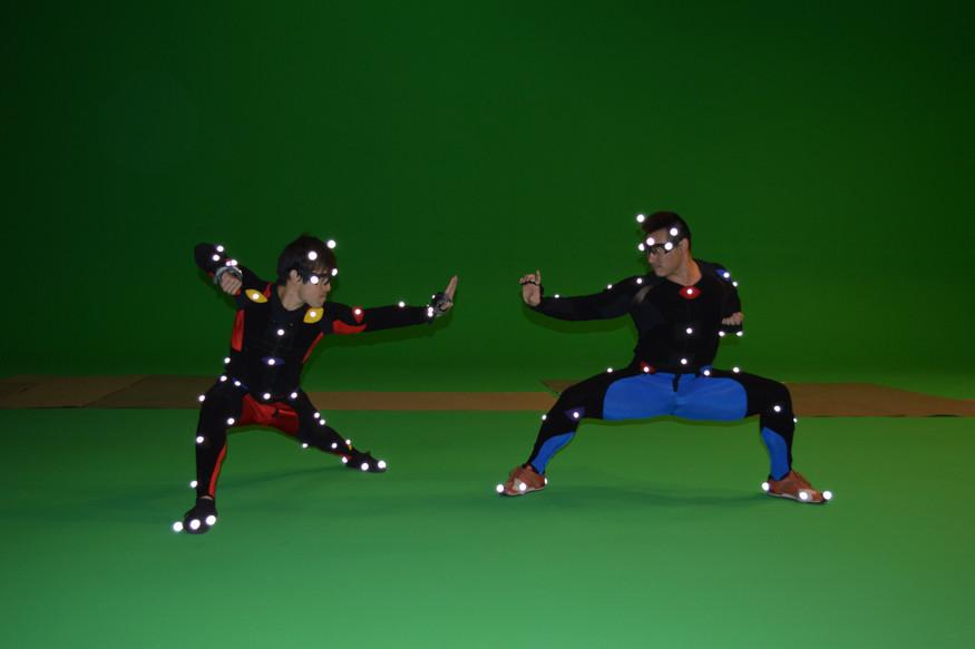 Optical mocap shoot for Game