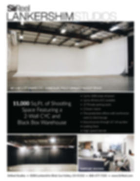 Our studio on 8500 lankershim blvd. Sun Valley CA