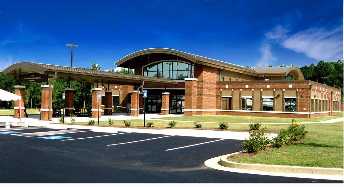 Sullivan Memorial Blood Center at Fort Benning Military Base in Georgia