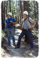 My Volunteer Vacation!  Building Hiking Trail In The Colorado Rockies.