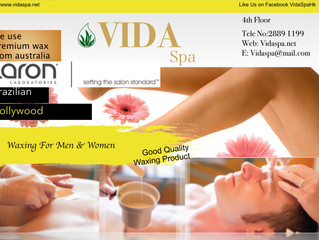 Available now at Vida Spa!