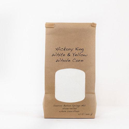 Hickory King white - cornmeal, grits and polenta