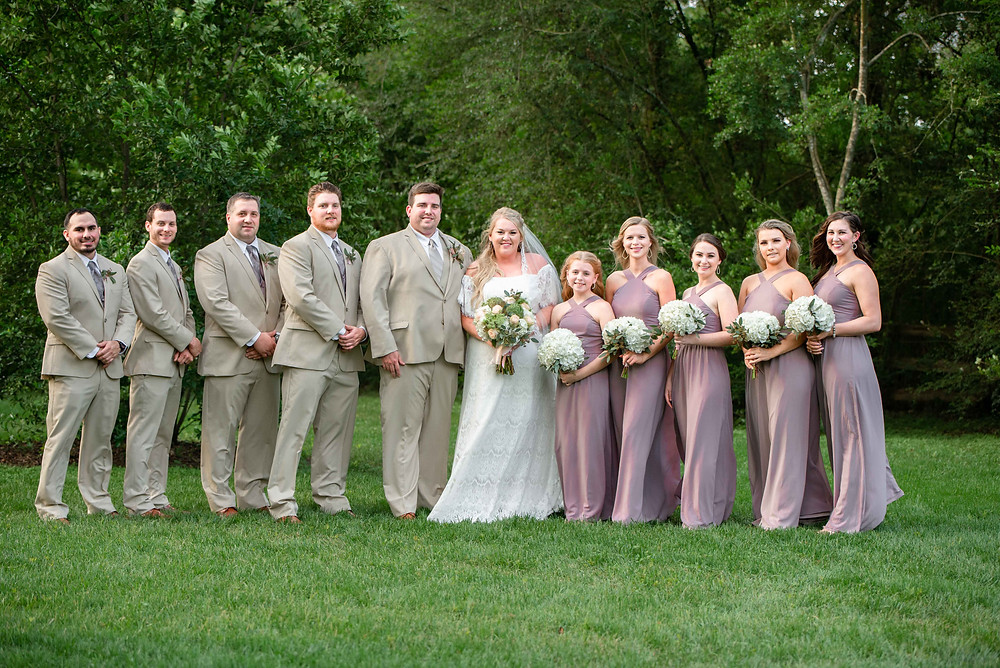 Wedding Party, Bridesmaids and Groomsmen, Houston, Cypress