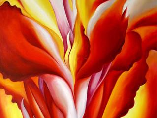 Las flores de Georgia O'Keeffe