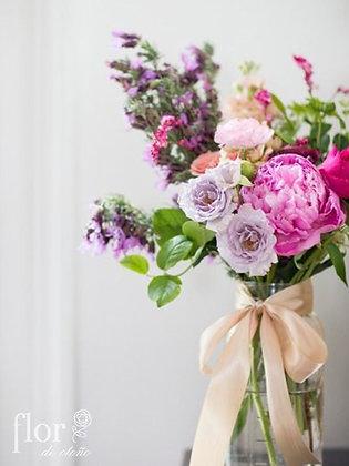 Servicio de bouquets a domicilio semanal