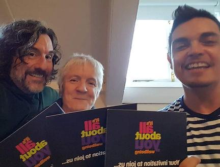 Max with David and Tina