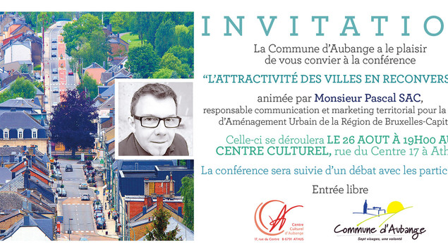 """Conférence sur le thème : """"L'attractivité des villes en reconversion"""""""