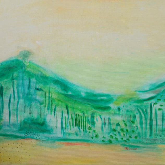 Imaginery landscape