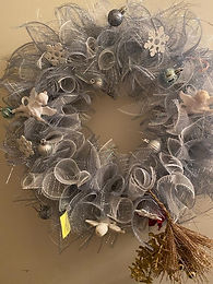 Snowflake and Angels Wreath
