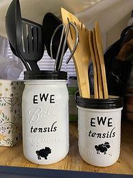 Ewe-Tensil Holders