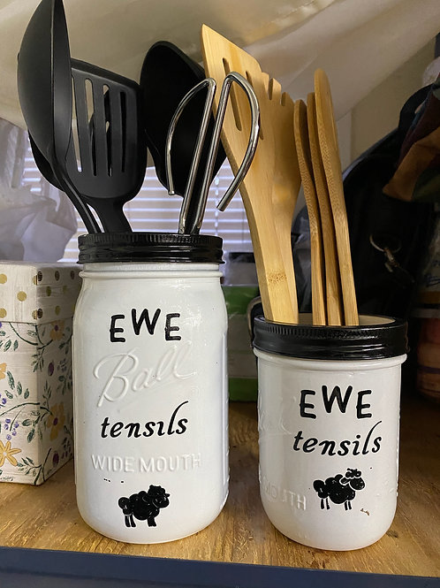 Ewe-Tensils Holder