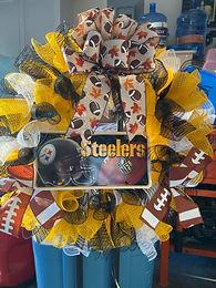 "24"" Steelers Wreath"