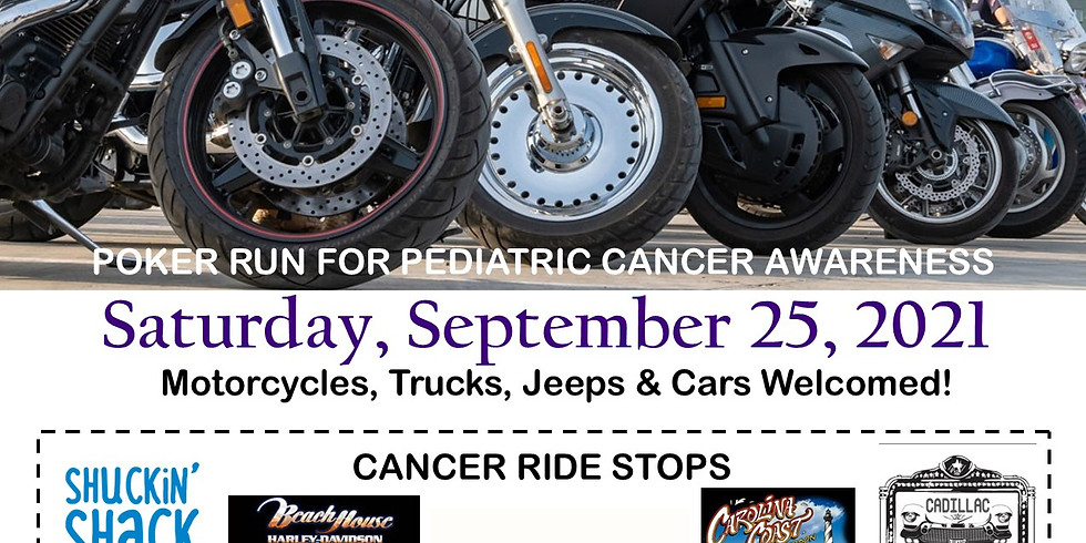 Gold Ribbon Cancer Ride