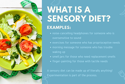 Autism and Eating Difficulties What is a Sensory Diet slide