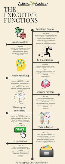 The Executive Functions Infographic